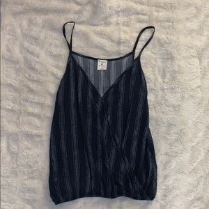 """""""By Together"""" navy tank top"""